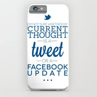 Social Media iPhone 6 Slim Case