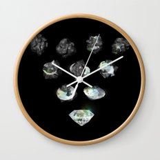 In the Rough Wall Clock