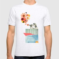 In Bloom Mens Fitted Tee Ash Grey SMALL