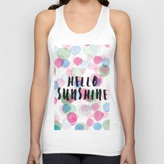 Hello Sunshine Unisex Tank Top