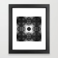 And Yet Insistence Never… Framed Art Print