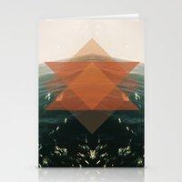 Triangular life Stationery Cards