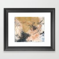Traces (I) Framed Art Print