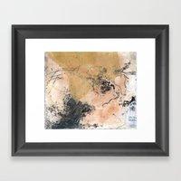 Traces (I) Framed Art Print