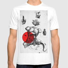 The Body SMALL Mens Fitted Tee White