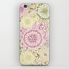 Floral Pattern #47 iPhone & iPod Skin