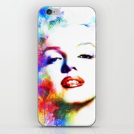 iPhone & iPod Skin featuring Marilyn Monroe by Michael Akers