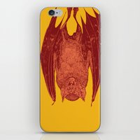 vampire bat iPhone & iPod Skin