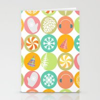 Happy Holidays  Stationery Cards