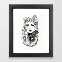 Nature Woman  Framed Art Print