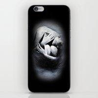 Woman in Black iPhone & iPod Skin