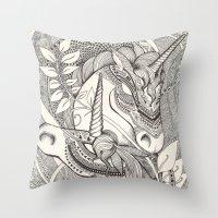 Inner Princess Throw Pillow