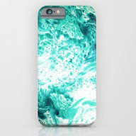 iPhone & iPod Case featuring Teal Marble by Jenna Davis Designs