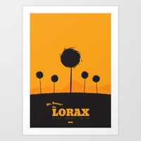 Dr. Seuss - The Lorax : … Art Print