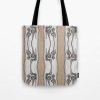 Wood Bones Tote Bag