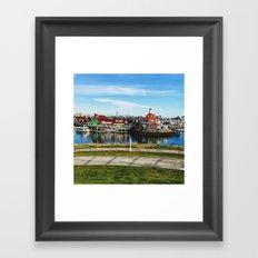 Shoreline Village Framed Art Print