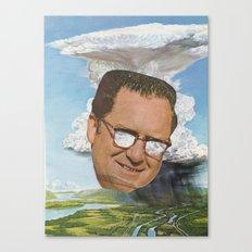 Storm Head Canvas Print