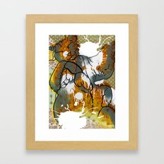 Dreams about milk  Framed Art Print