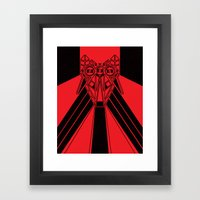 Power Wolf Framed Art Print