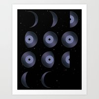 Phases Of The Tune Art Print