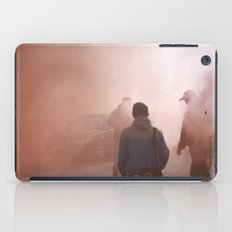 Red Smoke Streets iPad Case