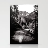 The Road Through The For… Stationery Cards