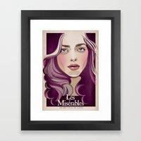 Cosette Framed Art Print