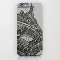eiffel iPhone & iPod Cases featuring Eiffel by Esteban Garza