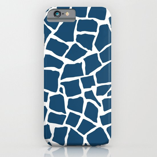 Mosaic Zoom Navy iPhone & iPod Case