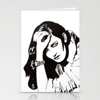 In Black & White IV Stationery Cards