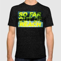 SO FAR OUT OF REACH (Psa… Mens Fitted Tee Tri-Black SMALL