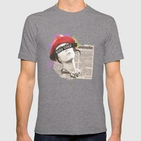 Stay Cool  Mens Fitted Tee Tri-Grey SMALL