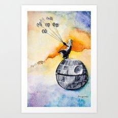 Petit Darth Art Print