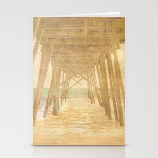 Under the Boardwalk Stationery Card