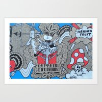 FF:Body Part II Art Print