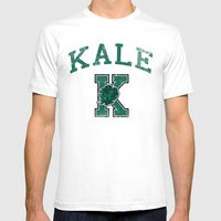 University Of Kale Mens Fitted Tee White SMALL