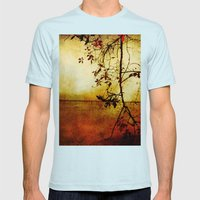 Red Dawn Mens Fitted Tee Light Blue SMALL