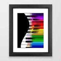 Feel The Music Framed Art Print