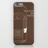 iPhone & iPod Case featuring Vorsprung Durch Awesome by Salmanorguk