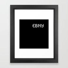 Ebony (BLCK #3) Framed Art Print