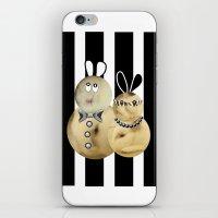 Couple3 iPhone & iPod Skin