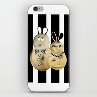 couple3 iPhone & iPod Skin