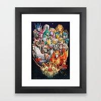 Wanderers Framed Art Print