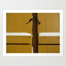 Blinds Art Print