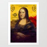 Bitch Better Have My Money Art Print