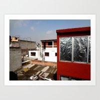 Chilango House Art Print