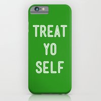 Treat Yo Self Green - Parks and Recreation iPhone 6 Slim Case