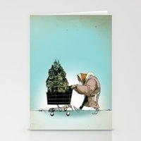 Glue Network Print Serie… Stationery Cards