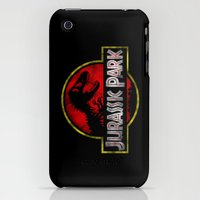 iPhone 3Gs & iPhone 3G Cases featuring JURASSIC PARK by DrakenStuff+