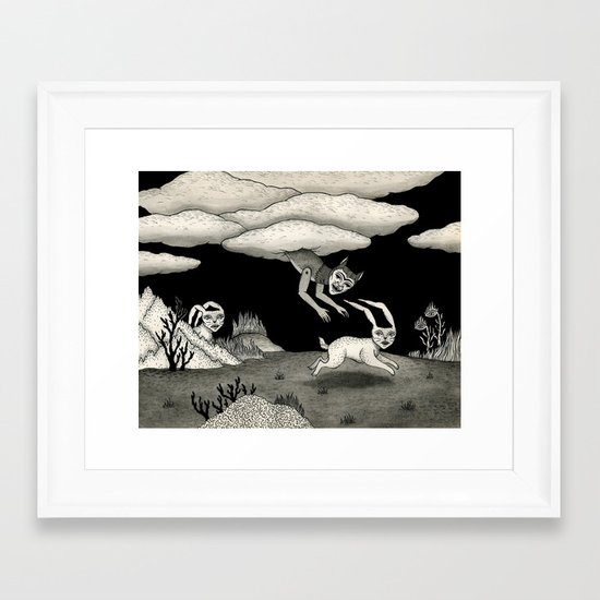 The Abduction Framed Art Print